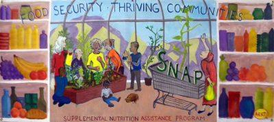 Banner to support SNAP, the Supplemental Nutrion Assistance Program.