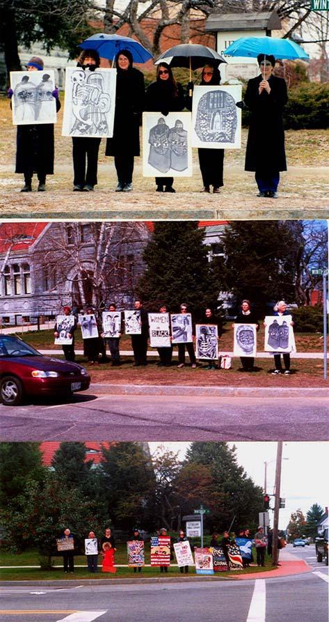 Women in Black, Augusta, Maine 2002