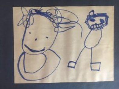 Insight bowman child drawing