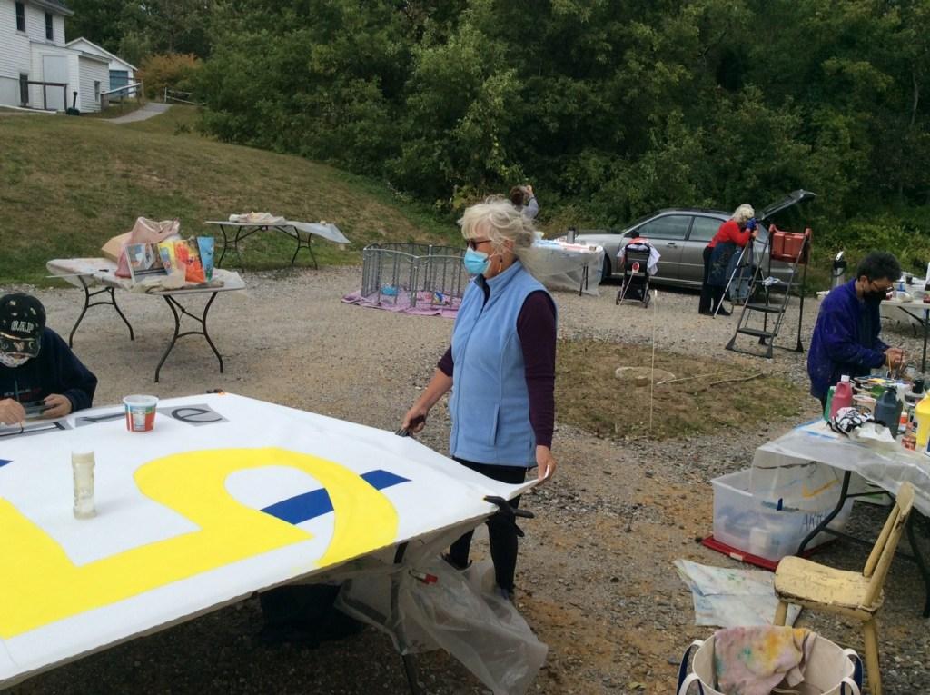 ARRT painting session