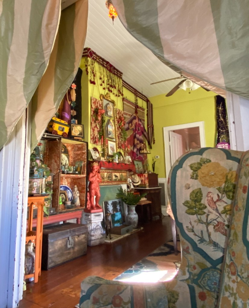 Curtis LaPrise's home and studio,