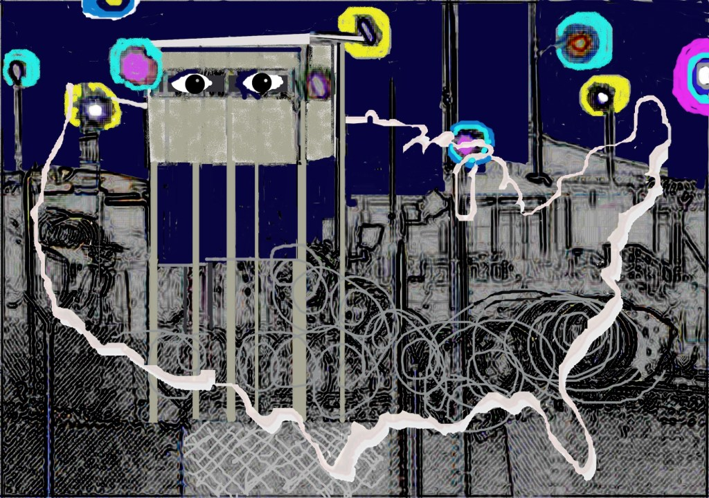 theme and invitation anonymous prison industrial state image copy