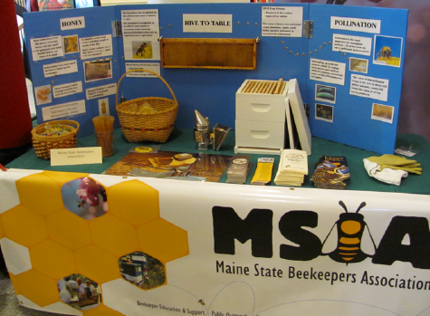 MSBA display at Ag Day at the Maine Legislature on March 27, 2013