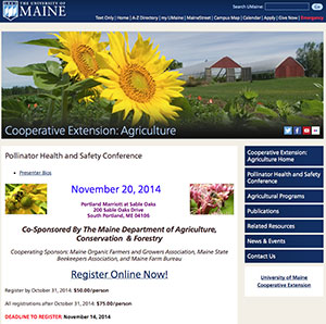 Pollinator Health and Safety Conference - November 20, 2014 - Portland