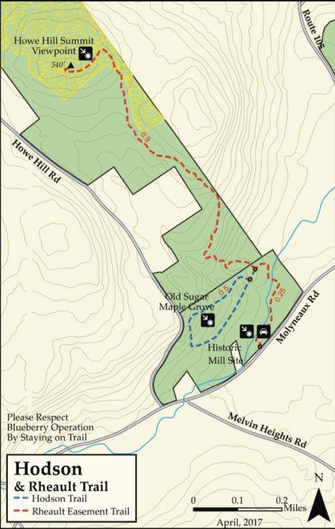Rheault -map