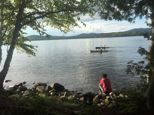 Rangeley camp 1