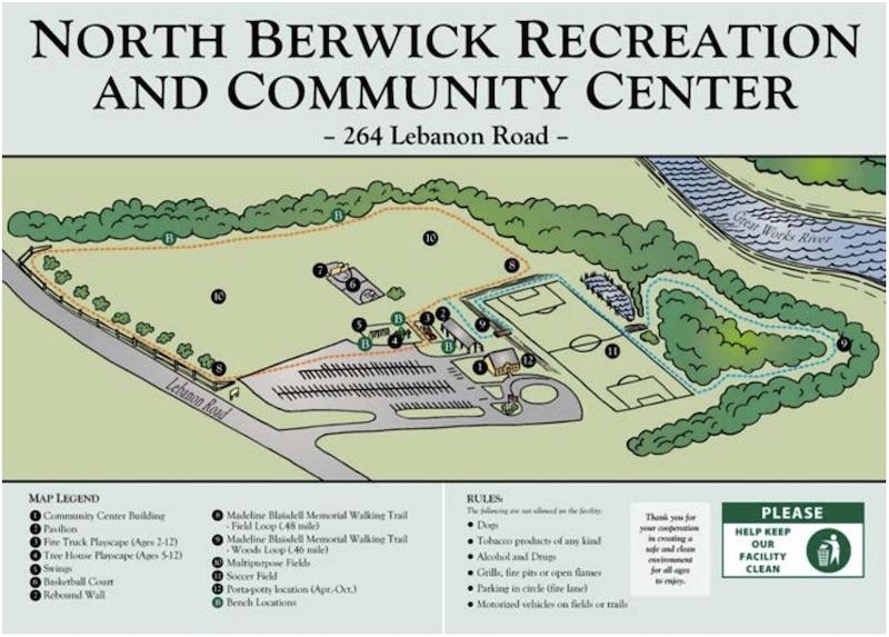 Rec Center map