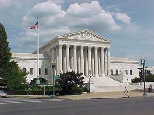 U.S. Supreme Court building exterior view