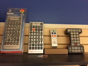 low vision aids - calculators, TV clickers