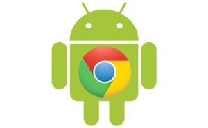 logos for Google Chrome and Android OS