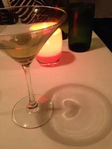 romantic martini, La Jolla, January 2013