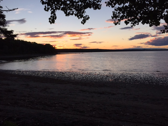Allen Cove at Sunset, August, 2015