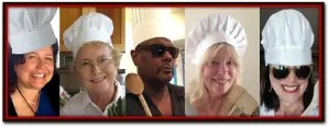 Katy Munger, Taffy Cannon, Gary Phillips, Kate Flora and Lise McClendon