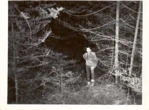 My father Robert Louis Clark in the famous Wheredaheckarewe Township