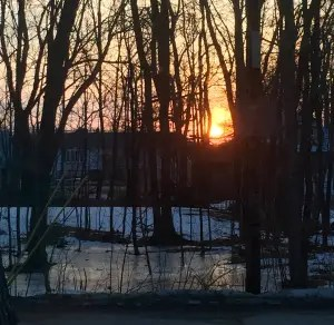 Have I ever seen a sunset I didn't like? Do you have to ask? A million photos of them taken from my front steps.