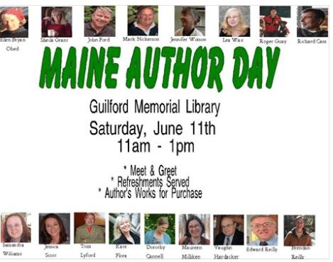 Maine Author Day