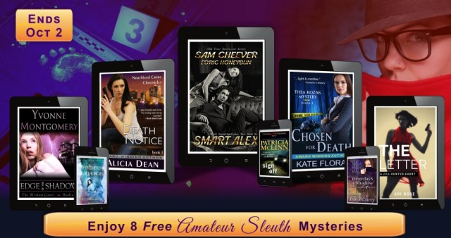 Sept 26 - Amateur Sleuths - Newsletter Graphic