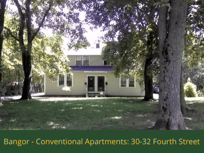 Bangor - Conventional Apartments - 30-32 Fourth Street: