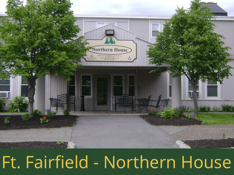 Fort Fairfield - Northern House: 24 units total - (19) 1 bedroom apartments, (1) 1 bedroom handicap accessible apartments, (3) 2 bedroom apartments, and (1) 2 bedroom handicap accessible apartment