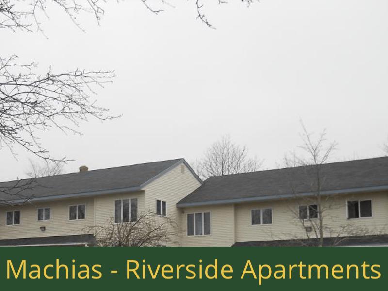 Machias - Riverside Apartments: (16) 1 bedroom apartments