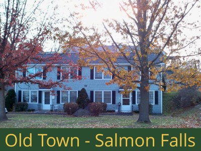 Old Town - Salmon Falls: (10) 1 bedroom apartments