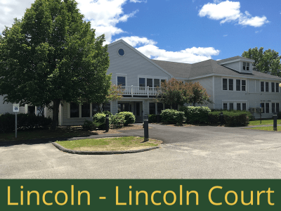 Lincoln - Lincoln Court: 20 units total – (14) 1 bedroom apartments. (4) 2 bedroom apartments, and (2) 2 bedroom handicap accessible apartments