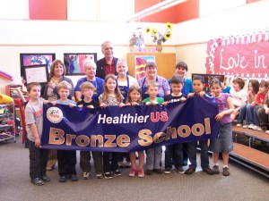 Kittery schools receive one of the nation's highest nutrition awards from the USDA's HealthierUS School Challenge.