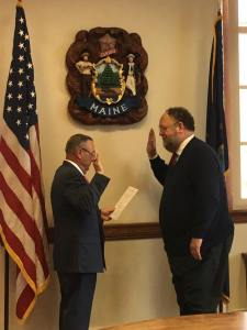 Governor LePage Swearing in Commissioner Hasson