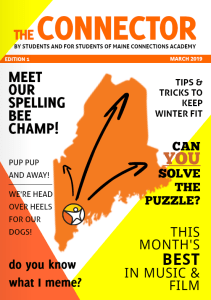 Magazine Cover for Maine Connections Academy