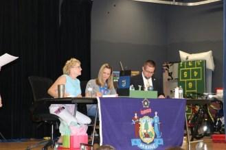 Christine Lajoie-Cameron, Keli Terry, and Joe Schmidt