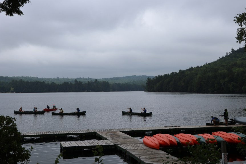 Class in a Canoe: Early College at Bryant Pond