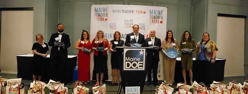 Maine Educators Celebrated at Annual Teacher of the Year Gala