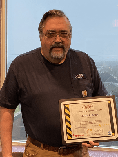 MSAD 15 Mechanic John Rundin Takes 1st Place at Maine Mechanics Competition and 9th Place in National Challenge