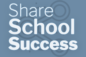Decorative Image Promoting Sharing School Success