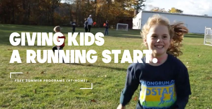 Giving kids a running start - girl running