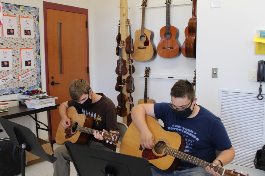 How Ashland District School has Adapted to Make Music Education a Priority