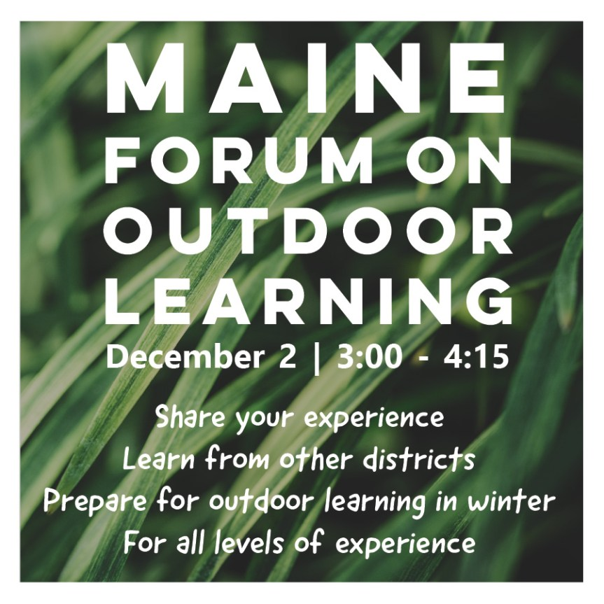 Maine Forum on Outdoor Learning