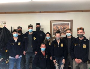 Caribou Technical Center FFA students ready to deliver