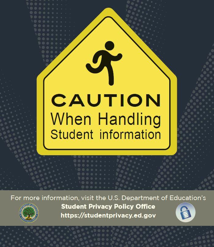 caution when handling student data