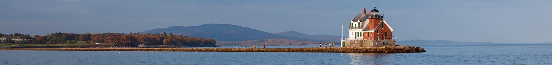 Rockland Harbor Breakwater, Rockland, Maine