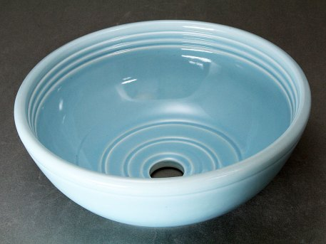 Small Blue Celadon Vessel Sink