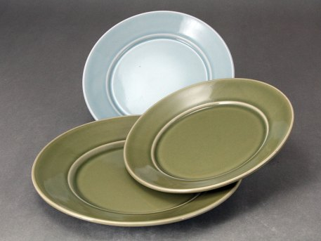 Duo Dinner and Sandwich Plate Set