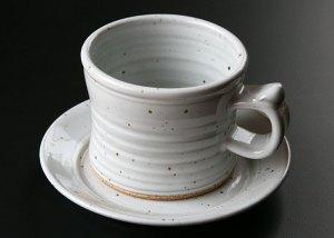White Mug and Saucer