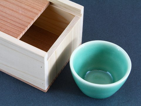 Aqua Celadon Cup — Box Set