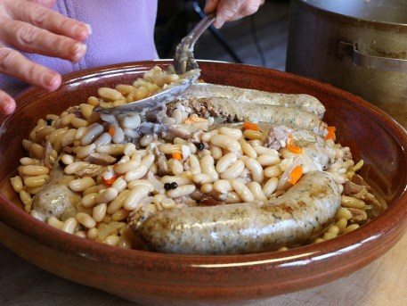 Cassoulet Preparation