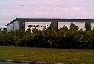 English: Amazon warehouse in Glenrothes, Fife;...