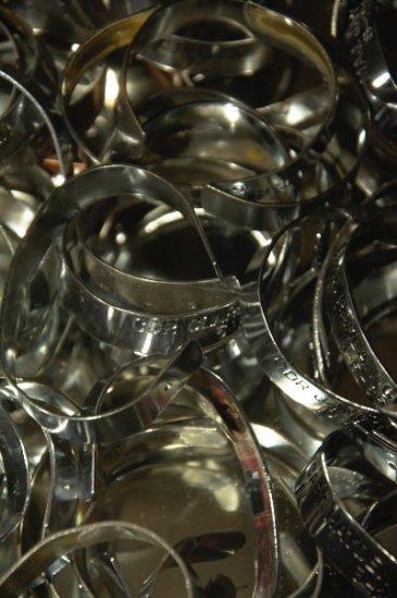 Vietnam War POW/MIA bracelets.