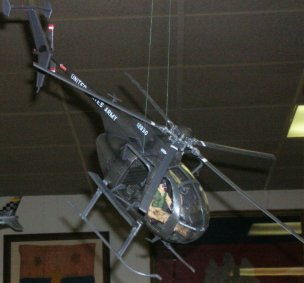 """""""Little Boy"""" helicopter from the Vietnam War to current use"""