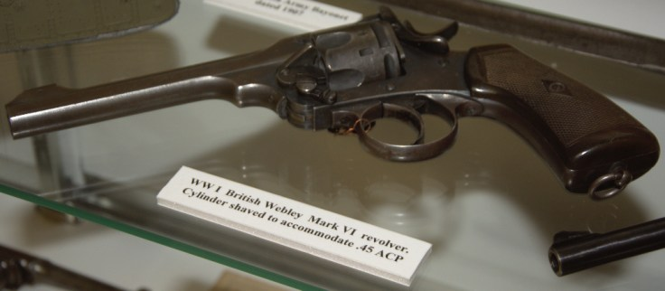 World War I British Webley Mark VI Revolver