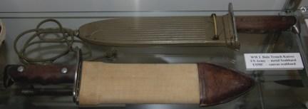 World War I Bolo Trench Knives